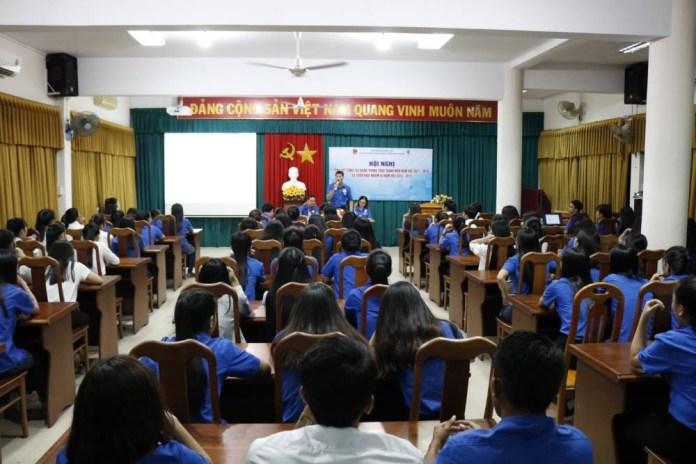 Đoàn trường CĐSP Trung ương Nha Trang tổng kết hoạt động năm học 2017-2018 1