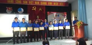 Khen thưởng công tác Đoàn và phong trào thanh thiếu nhi năm 2018