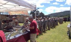Tin Hut BBQ Caters Military Events