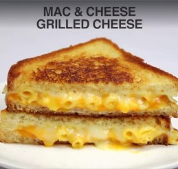 Mac and Cheese Grilled Cheese Sandwich