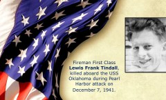 Memory and Sacrifice of USS Oklahoma Sailor Lewis Tindall Honored at National Memorial Cemetery of the Pacific