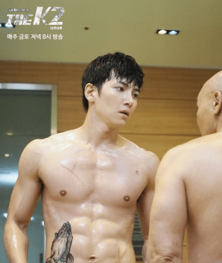 Pray for his divine abs
