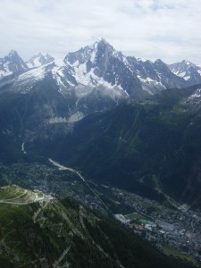 396 D12 view to chamonix