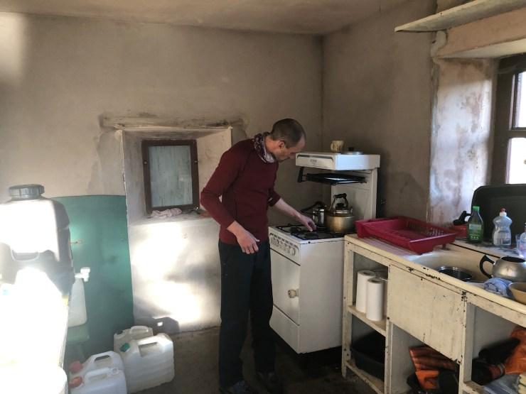 kitchen at Burnmoor lodge