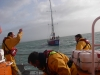Weymouth RNLI Crew and CV9 Qingdao