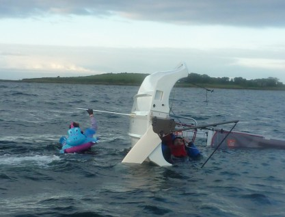 Capsizing with Percy