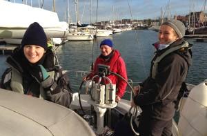 Leaving Bangor Marina