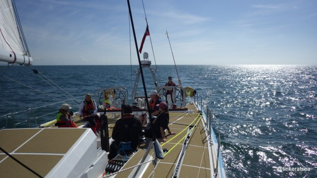 Helming the new Clipper 70