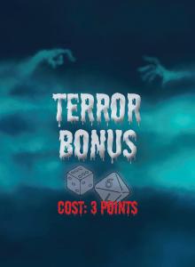 Terror Bonus Card Back