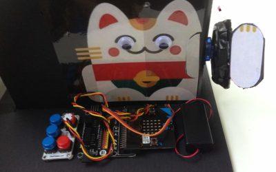 Make a Waving Fortune Cat