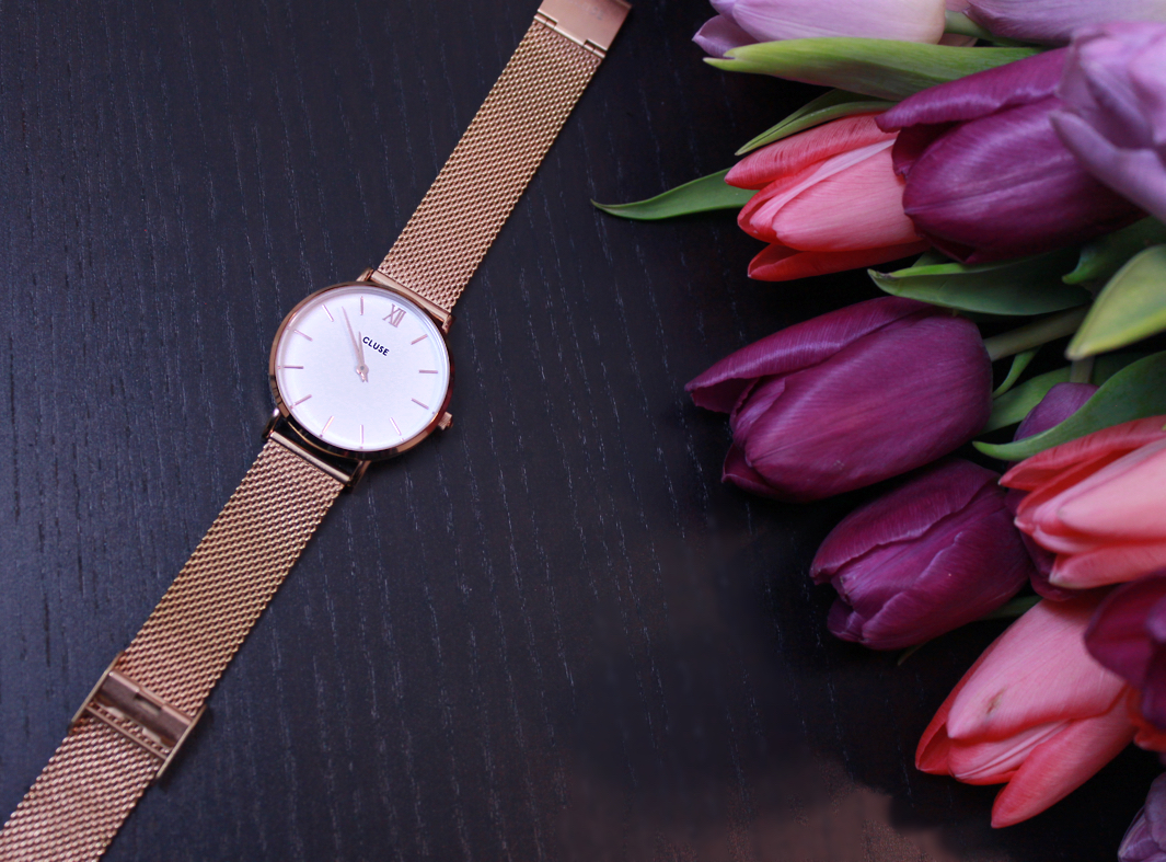 Neue Uhr von CLUSE: Minuit Mesh Rose Gold