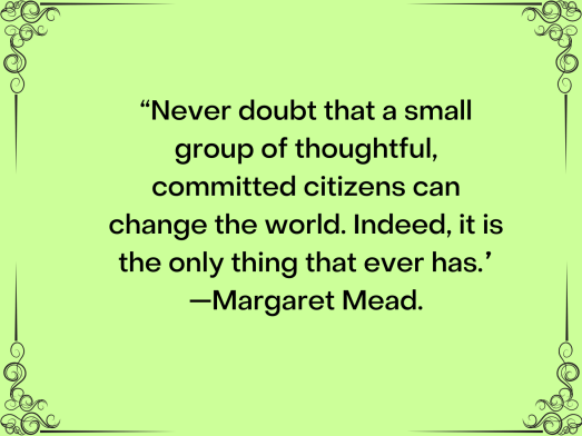 Kindness Quote Margaret Mead