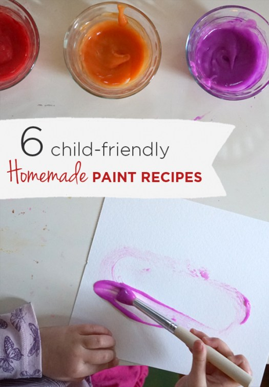 Squeezing Paint Our Favorite Homemade Recipes