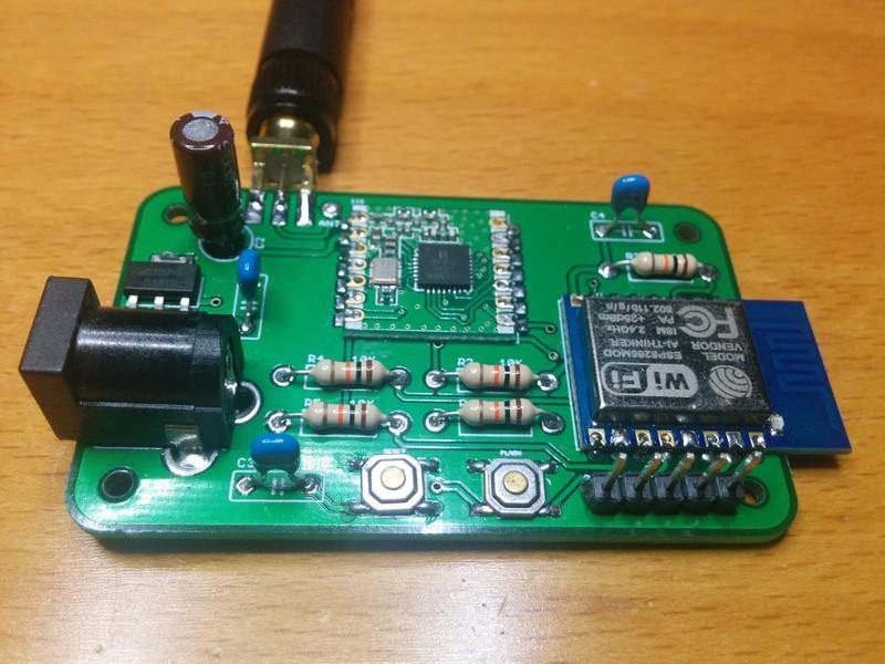 Moteino + ESP8266-based gateway