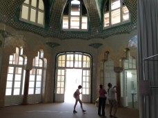 Same windows from inside Sant Rafael