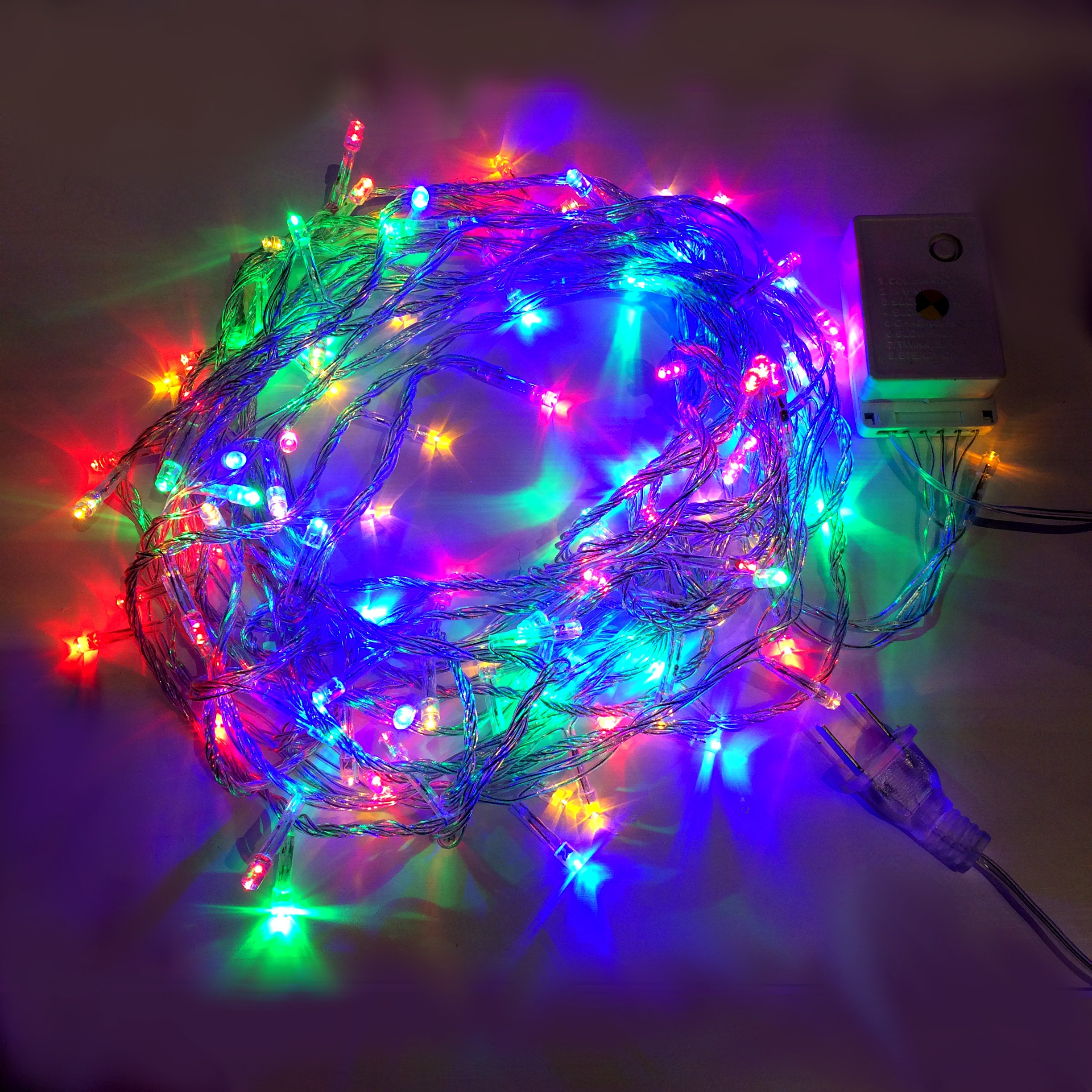 Lcd Christmas Lights