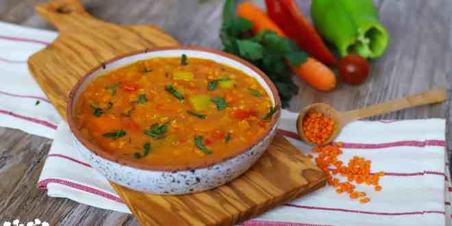 Šosovicová polievka tureckej nevesty