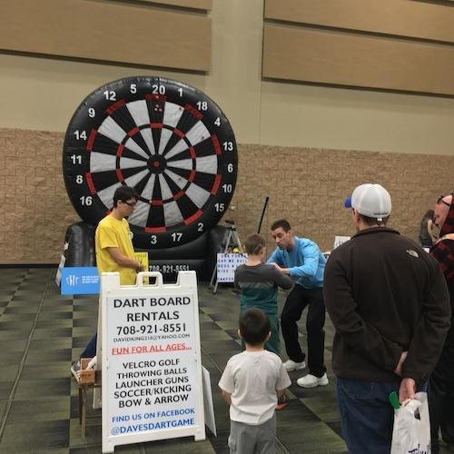 Dart Board at Discover Tinley 2019