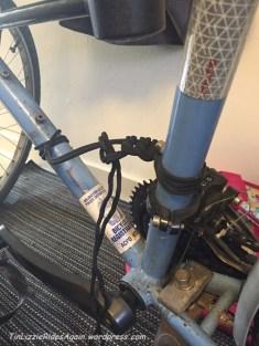 550 cord handle being taken apart