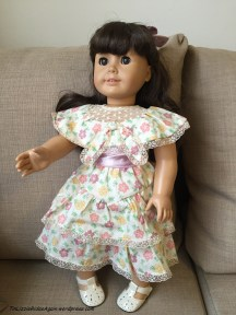 Samantha's new dress is actually Kit's Summer Dress - shh, don't tell her!