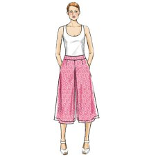 Vogue 9091 Culottes