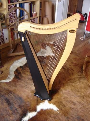 Harpe Ravenna Dusty Strings