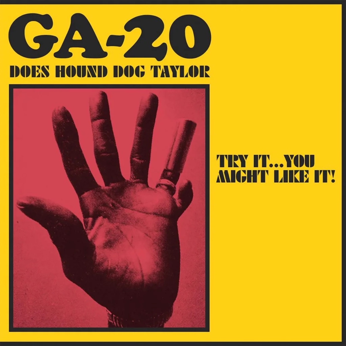 Albums Of The Week: GA-20 | GA-20 Does Hound Dog Taylor: Try It...You Might  Like It! - Tinnitist