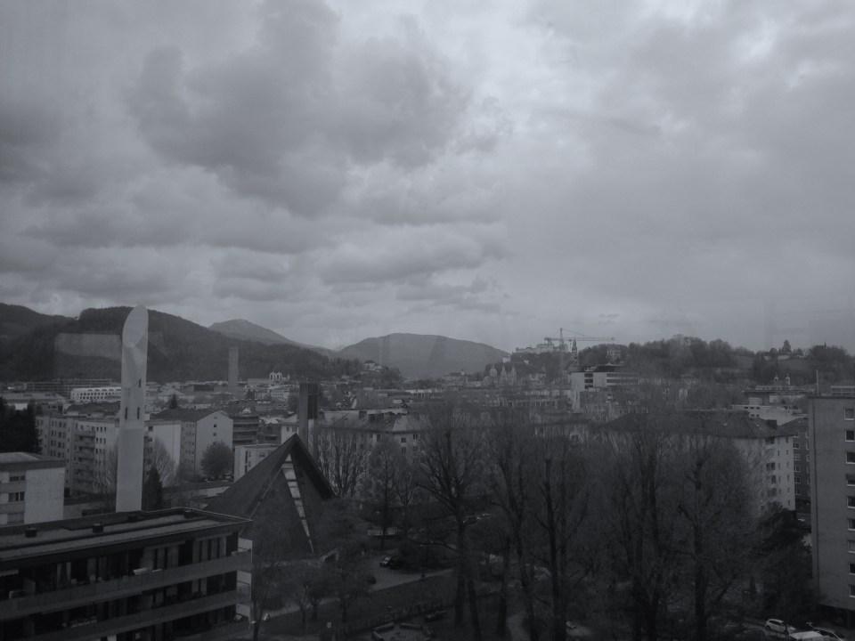 Ausblick Panoramabar Salzburg