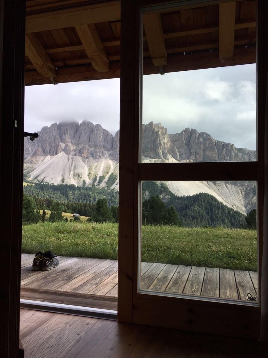 MTB-Trip Dolomiten / Ausblick