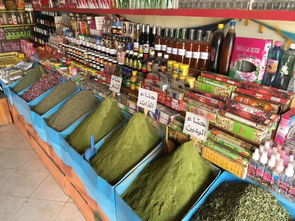 Einkaufen in Marokko III