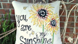 Sunflower Decorative Pillows To Brighten Your Home