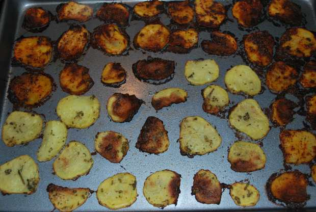 Genius Hour Cooking Week 4: Homemade Baked Potato Chips ...