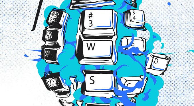 escribir sin parar, escritores, apps para escritores, escribir sin la mente,