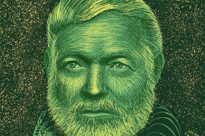 Hemingway sobre escribir, la ambición, el arte de la revisión y su lista de libros esenciales para aspirantes a escritores