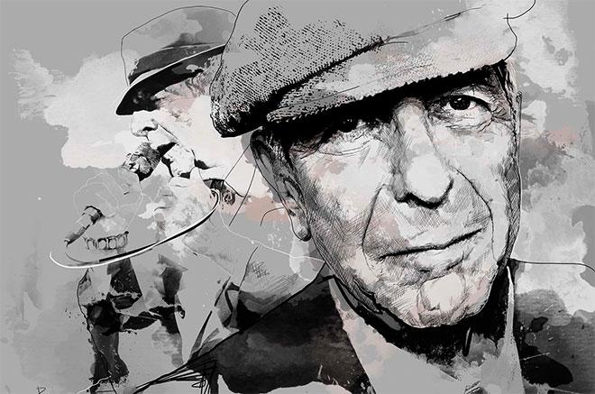 Leonard Cohen sobre creatividad, trabajo duro y porqué nunca debes renunciar antes de que sepas a qué renuncias