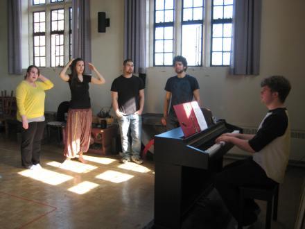 Music rehearsal!
