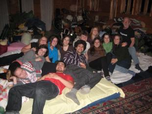 La troupe du Tintamarrathon 2011