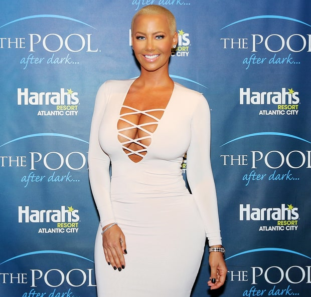 Amber Rose likes them to squirm!