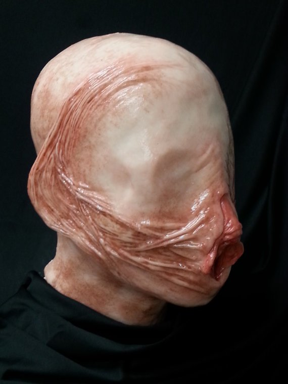 Make your face a Vagina this Halloween!