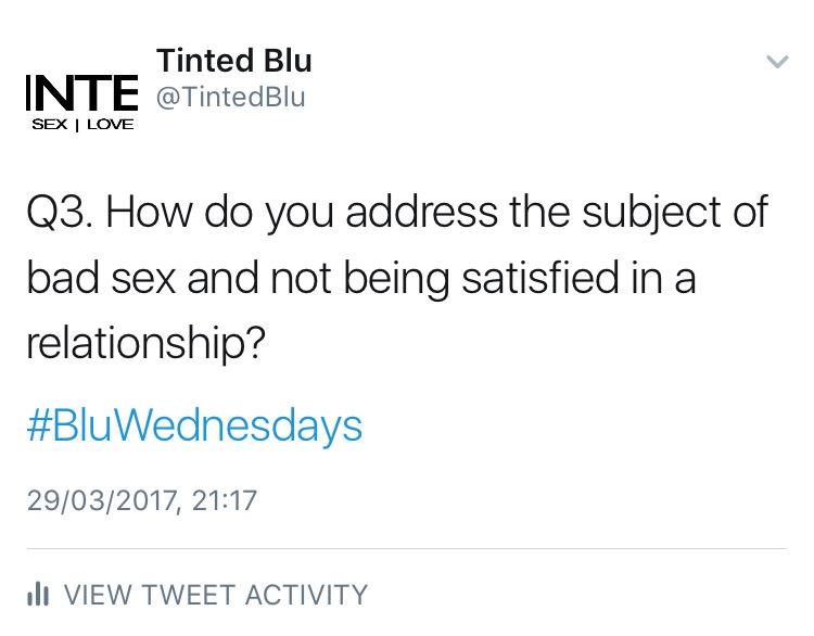 [29·03·2017] #BluWednesdays [1]