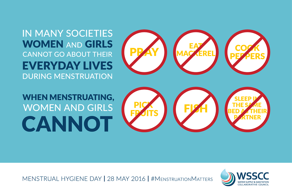 Today is Menstrual Hygiene Day - 28th May!