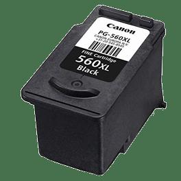 tinteiro-vazio-Canon-PG-560XL