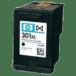 tinteiro-vazio-hp-301XL-preto