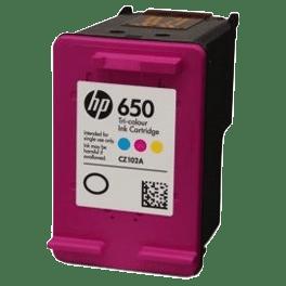 tinteiro-vazio-hp-650-tricolor