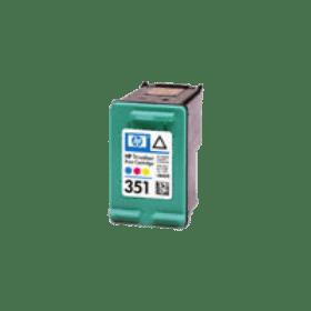 tinteiro vazio HP CB337E 351