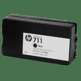 tinteiro vazio HP CZ129A Preto 711 Preto