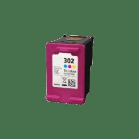 tinteiro vazio HP F6U65AE 302 CL Reciclado F6U67AE 302XL CL Reciclado