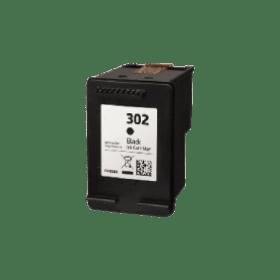 tinteiro vazio HP F6U66AE 302 Preto Reciclado F6U68AE 302XL Preto Reciclado