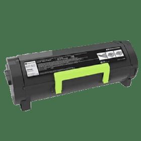 toner vazio LEXMARK MS317 MS417 MS517 MS617