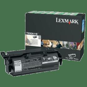toner vazio LEXMARK T650 T652